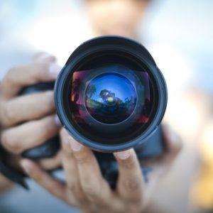 Fotóstúdió, fényképezés